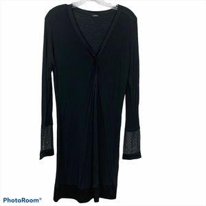 La Perla Black Nightgown Size Small